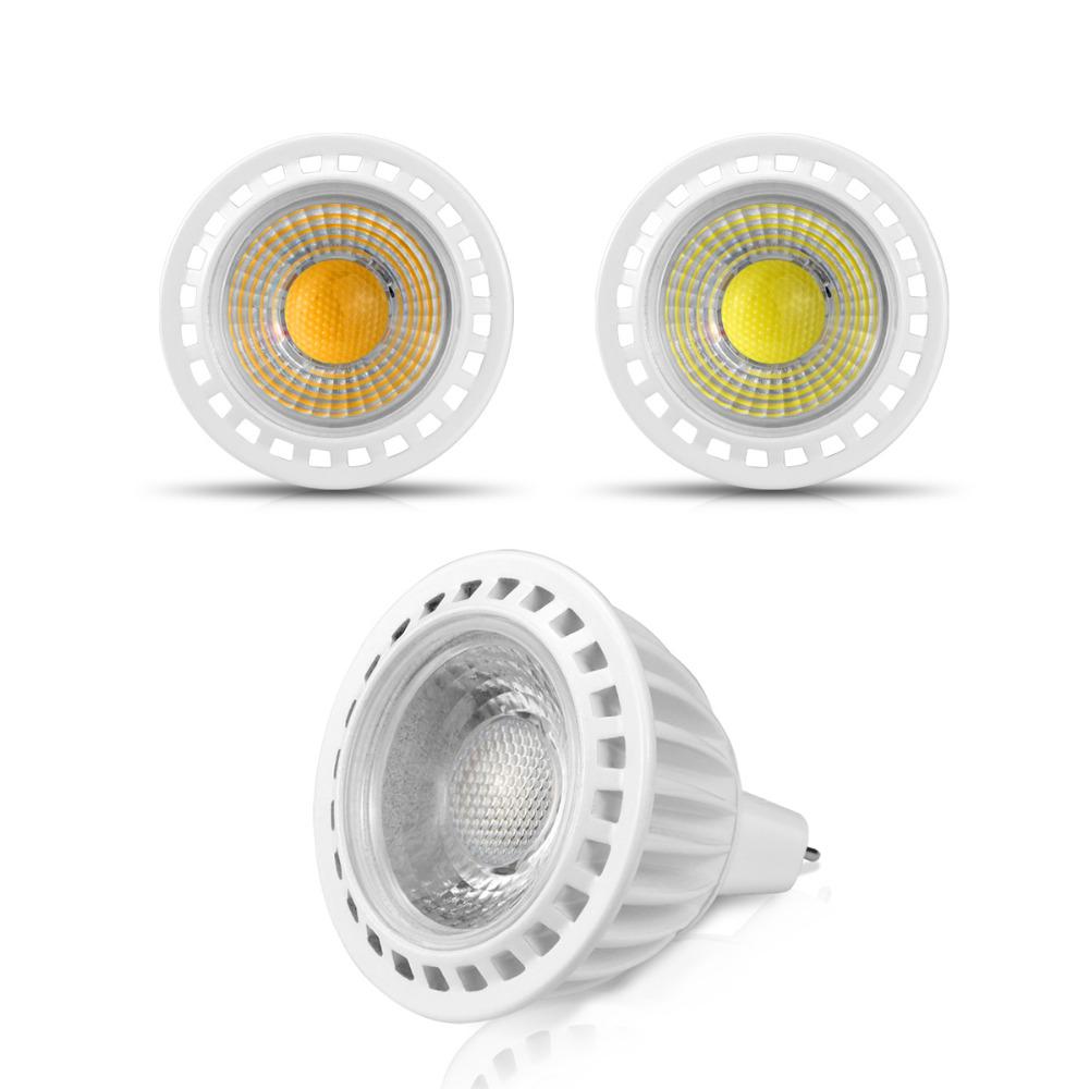 6pcs cob led spotlight led light dimmable ac dc 12v led. Black Bedroom Furniture Sets. Home Design Ideas