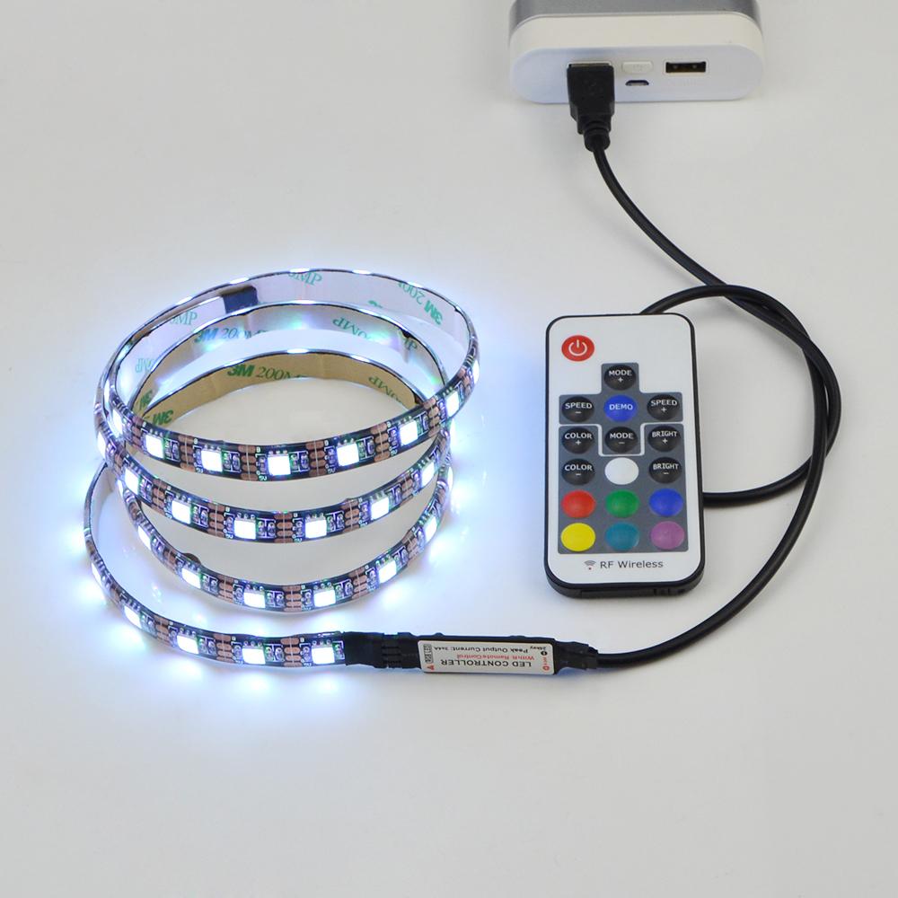 5050 Smd Usb Cable Rgb Led Strip Light