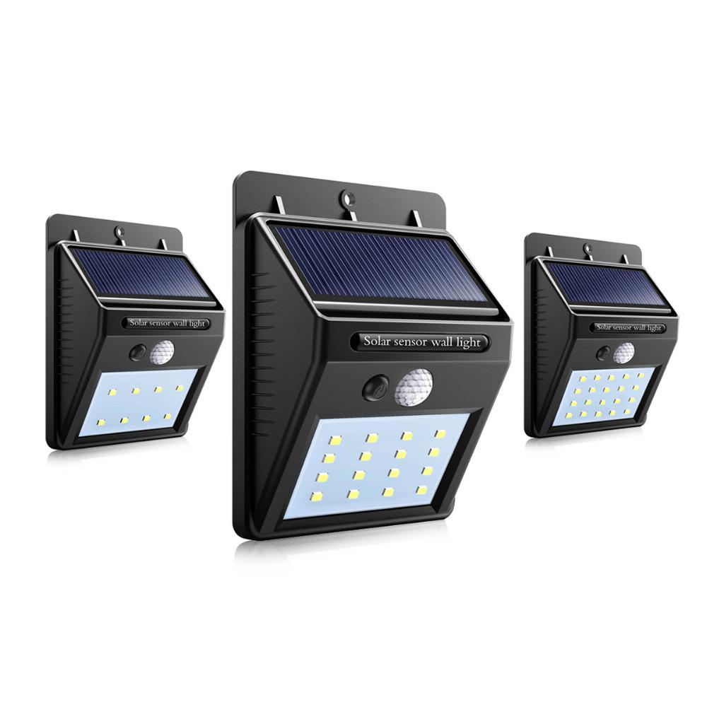 Led Street Lights Led Solar Power Pir Motion Sensor Light