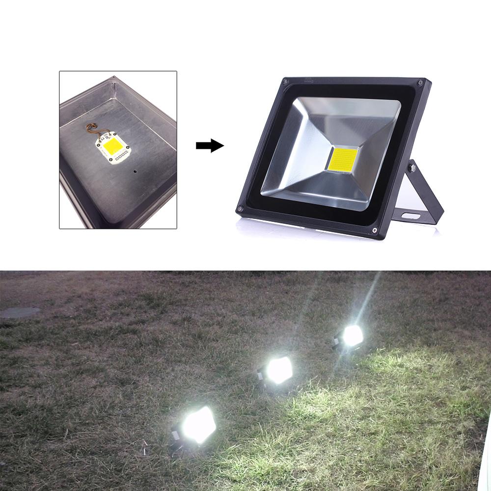 Led Cob Chip Bulb 20w 30w 50w 220v Power Supply Ip65 Smart Ic Flashing Integrated Driver For Flood Light Floodlight Spotlight