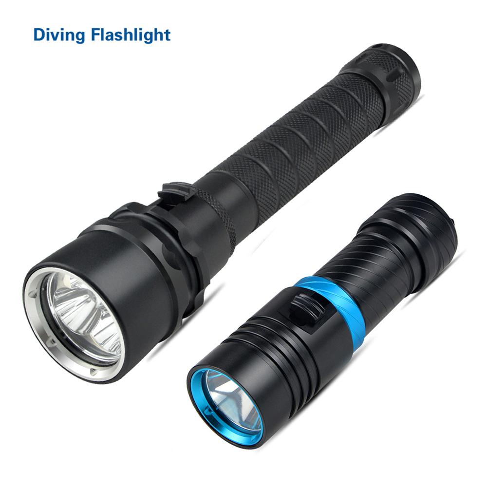 IP68 Super Bright 100M Underwater XM-L L2 LED Diving ...