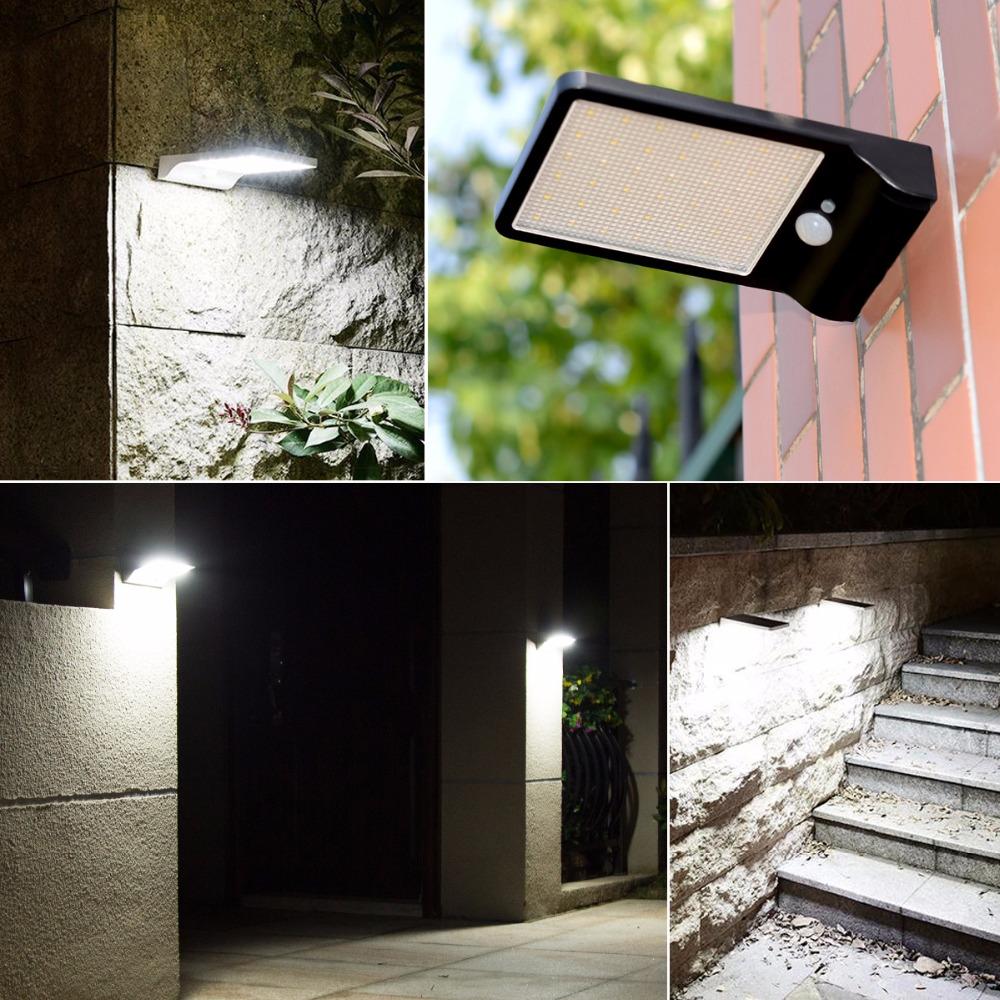 2835 Smd 36 Led Pir Sensor Motion Solar Light Outdoor