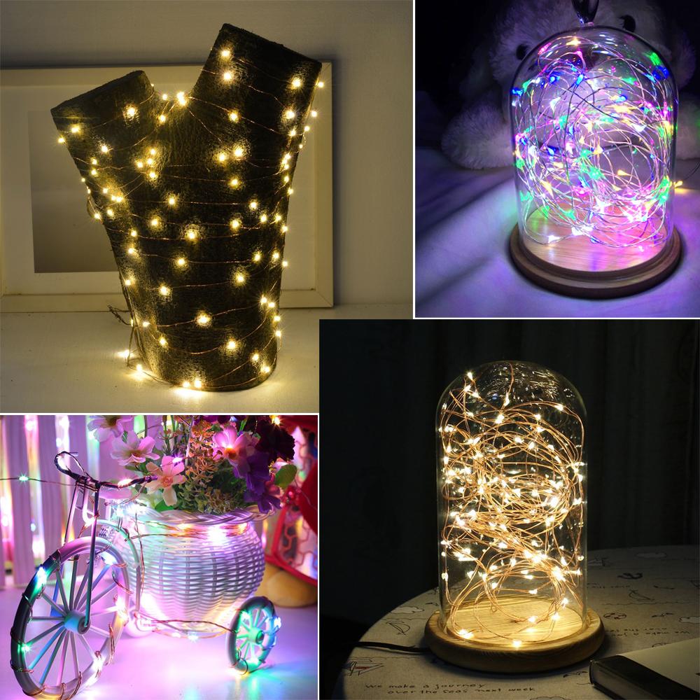 2m 5m holiday decoration lights led strip light powered. Black Bedroom Furniture Sets. Home Design Ideas