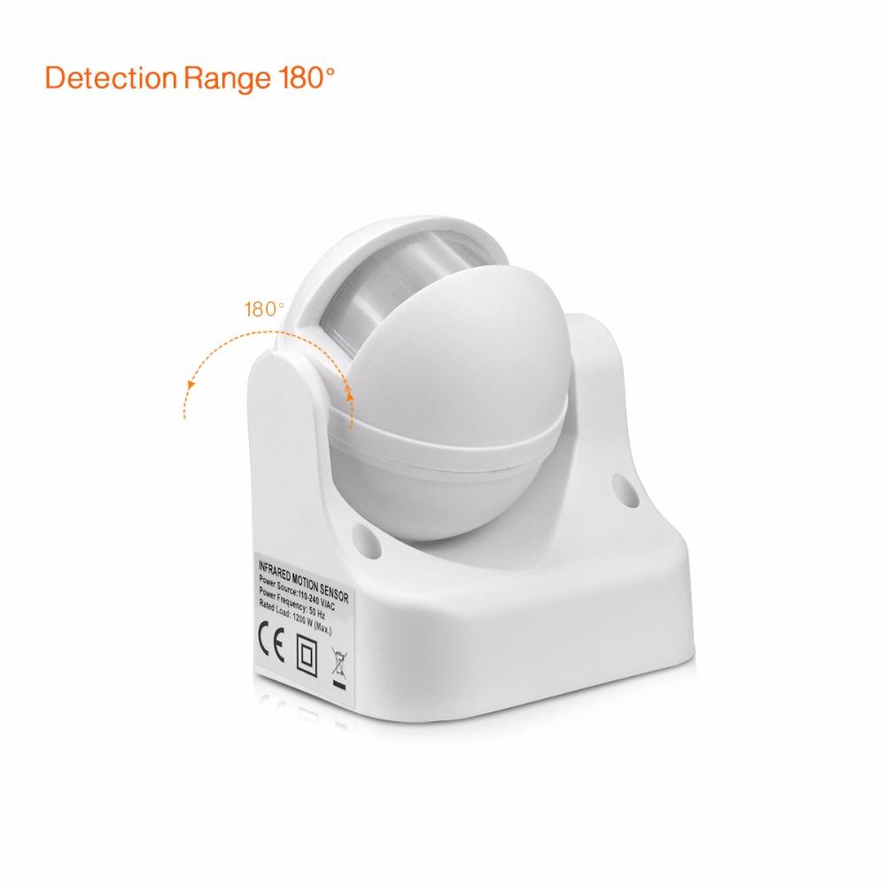 DIY PIR Infrared Motion Sensor Switch Smart Security LED ...