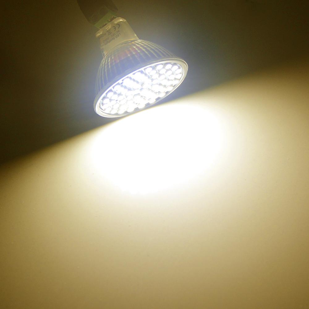 Glass Plastic Spot Light Mr16 Gu5 3 Led Bulb 220v Led Lamp Spotlight 60leds 27leds 80 Leds