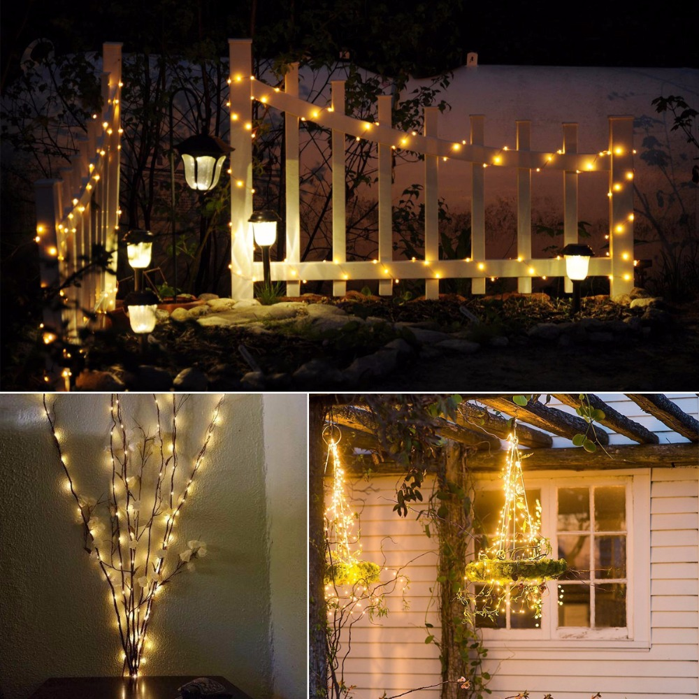 Holiday Light Led Copper Wire String