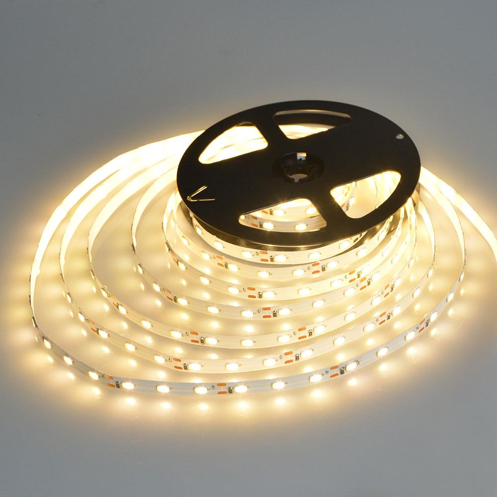 Led Weatherproof Strip Light 2ft: IP65 / IP20 No Waterproof 5m DC12V LED Strip Light 2835