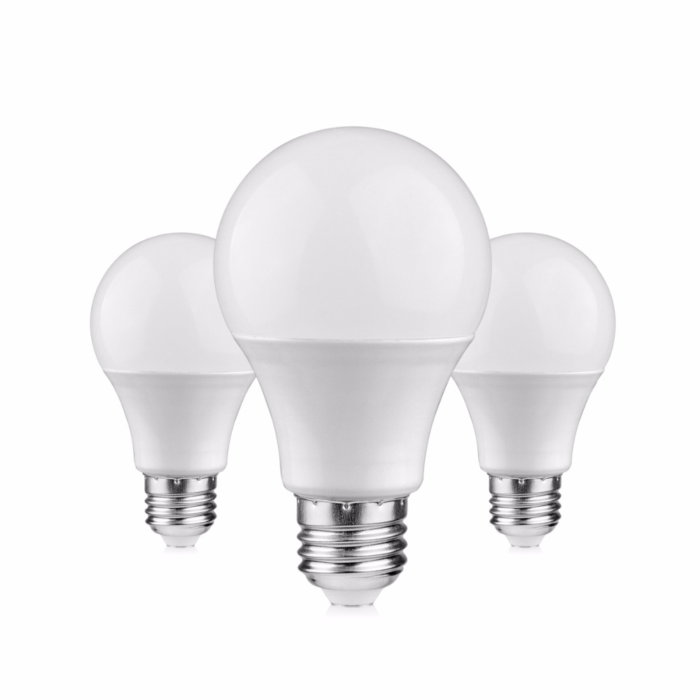 4pcs Led Light Ac 220v E27 3w 5w 7w 9w 12w 15w Led Bulb
