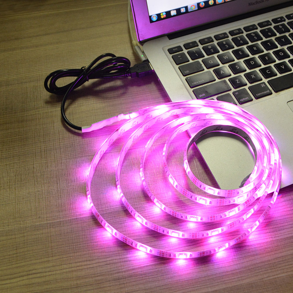 Ip65 waterproof dc 5v usb charger rgb usb led strip light 3528 ip65 waterproof dc 5v usb charger rgb usb led strip light 3528 5050 smd 50cm 1m 2m for tv backgroud indoor home lighting mozeypictures