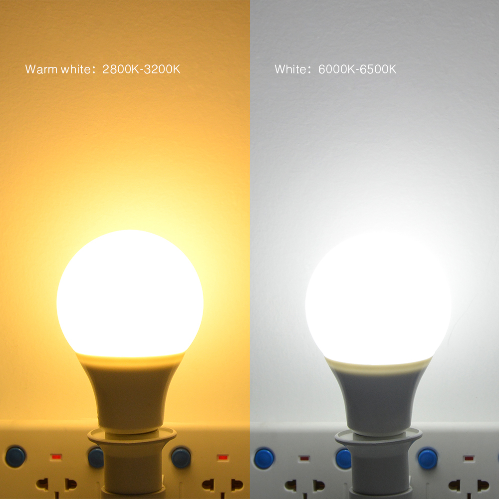 Warm White Online In Australia: 220V E27 3W 5W 7W 9W 12W 15W LED Bulb Lamp Smart IC LED