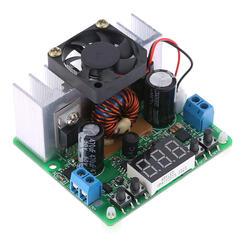 DC-DC Adjustable Power Step-down Charge Module DIY Kit Voltmeter Ammeter P4G1