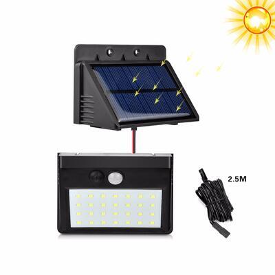 28leds motion pir sensor solar led light outdoor separable solar