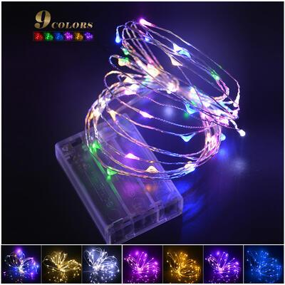 5M 2M Christmas light led Copper Wire String lights LED Night Light ...