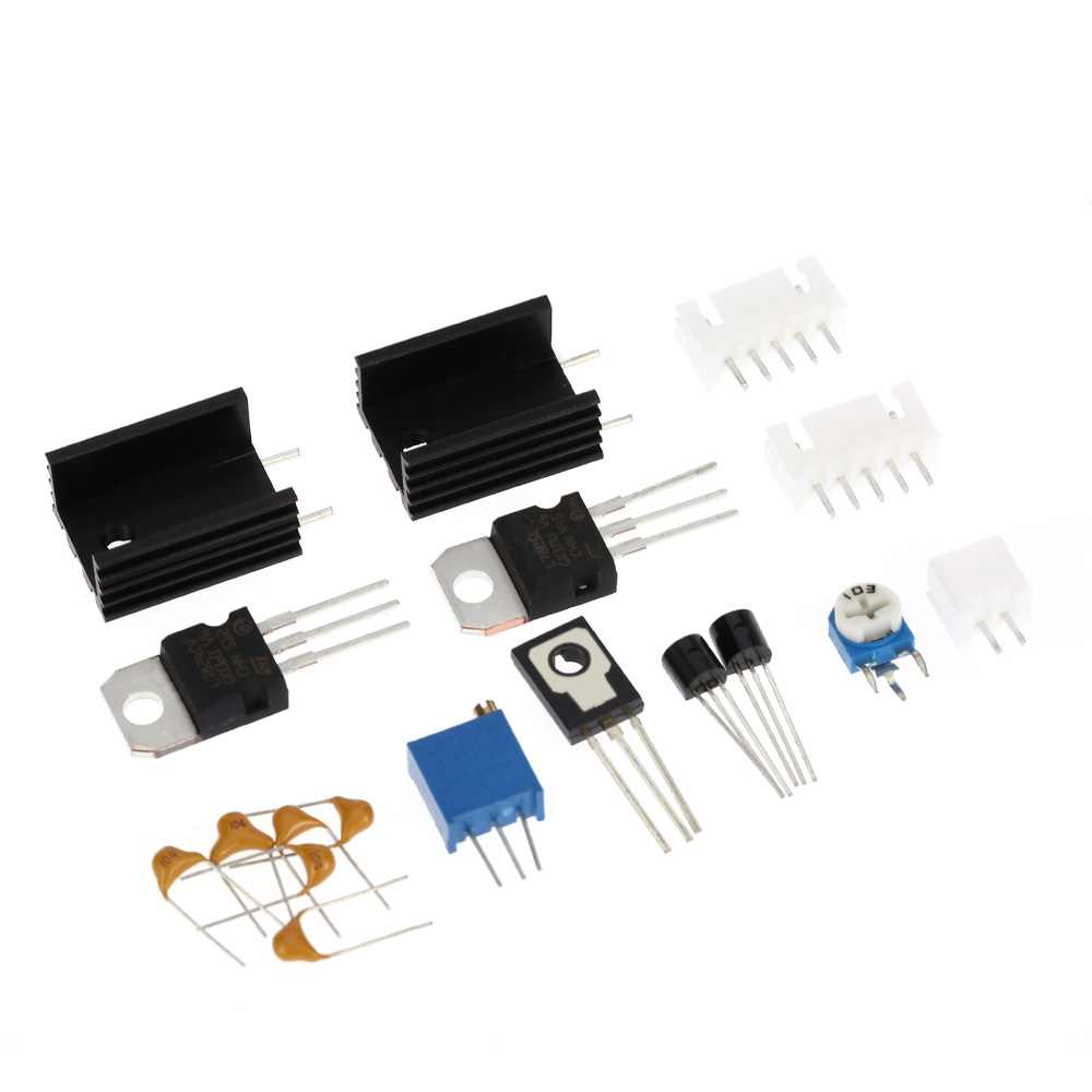 Adjustable DC Regulated Power Supply DIY Kit LCD Display Regulated Power KitShort circuit Current limit Protection 0 28V 0.01 2A