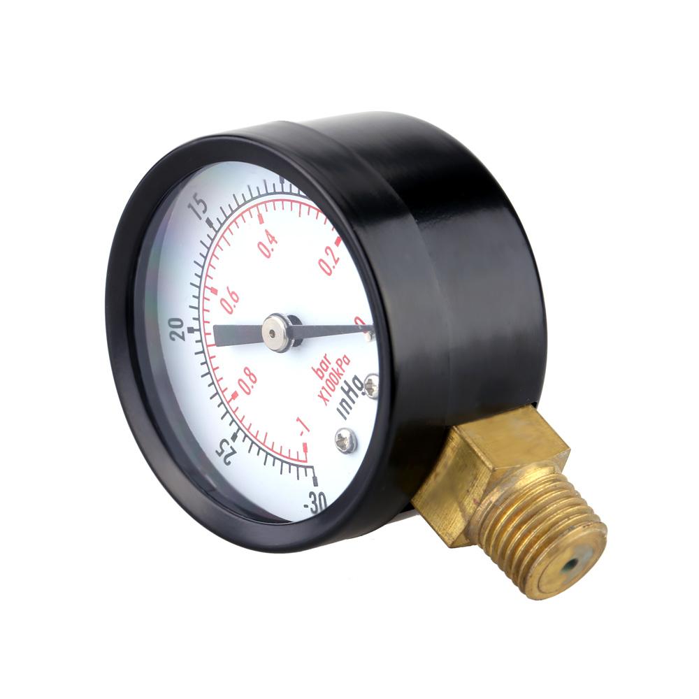 Mini Dial Air Pressure Gauge Meter Vacuum Manometer Double ...