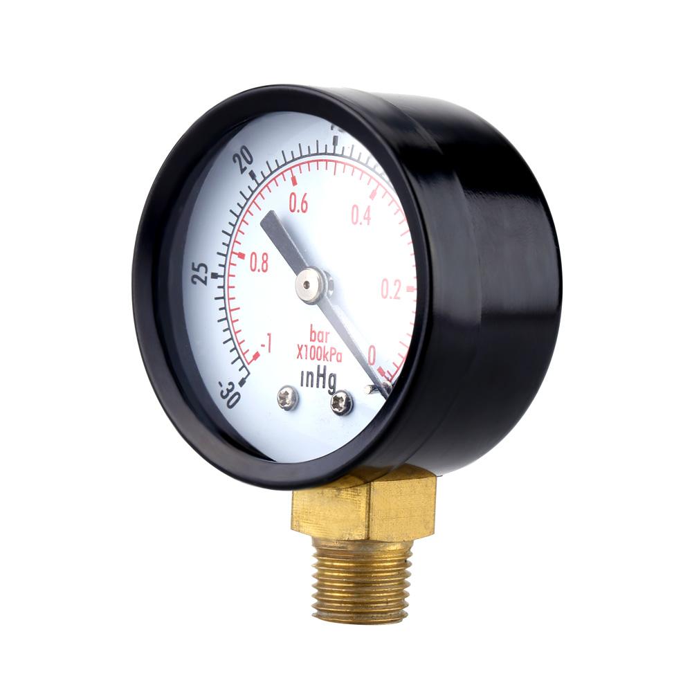 Dial Air Pressure Gauge vacuum gauge Double Scale ...