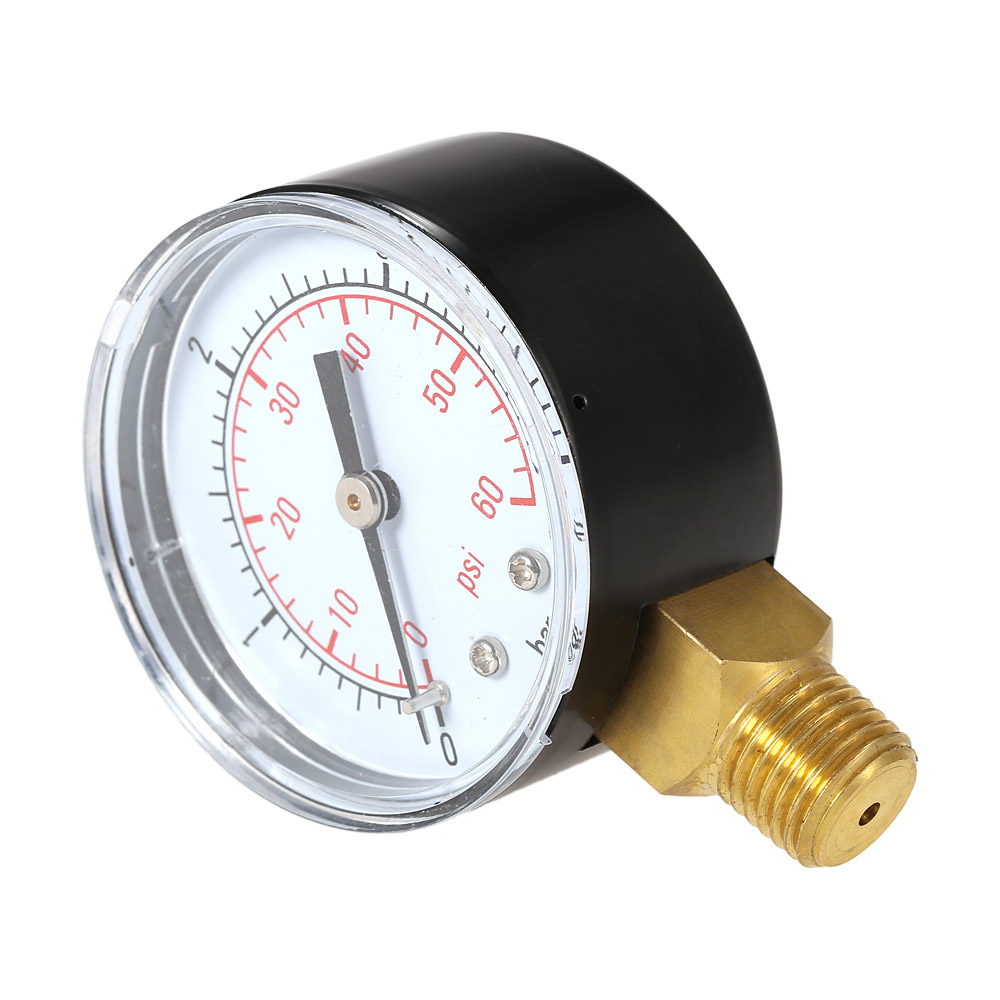 50mm manometer Pool Filter Water Pressure Dial Hydraulic ...