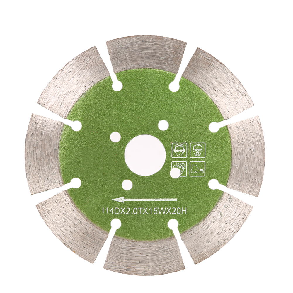Diamond Saw Blade with Cooling Holes 20mm Inner Diameter Marble Granite Tile Incising For Angle Grinder