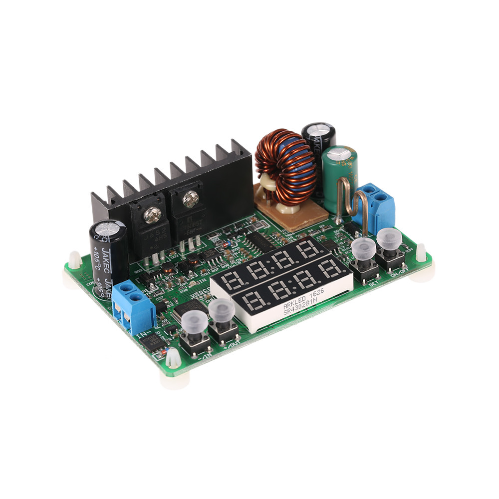 Digital High Quality Step down Module Constant Voltage Current Regulated Power Supply Module Input DC 6 40V Output 0 32V 5A