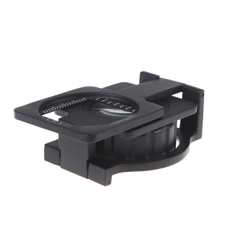 20X Foldable Magnifier Stand Measure Scale Loupe Magnifying Glass Portable Optical Instruments