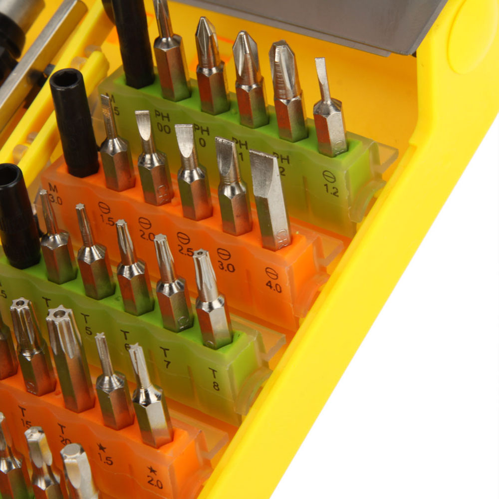 45 in 1 Multi Purpose Precision Screwdriver Set Repair Tool Kit for Cell Phone PC Notebook TV NO.9152