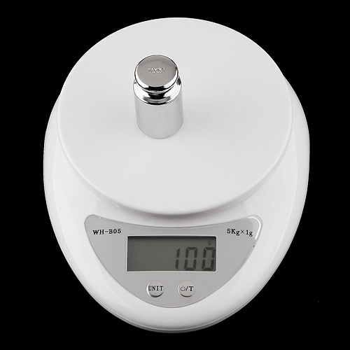 Digital Scale Kitchen Balance Electronic Weighting Scale 5kgx1g Food Diet Postal Balance Kitchen Tool Mini Digital Weight Scales