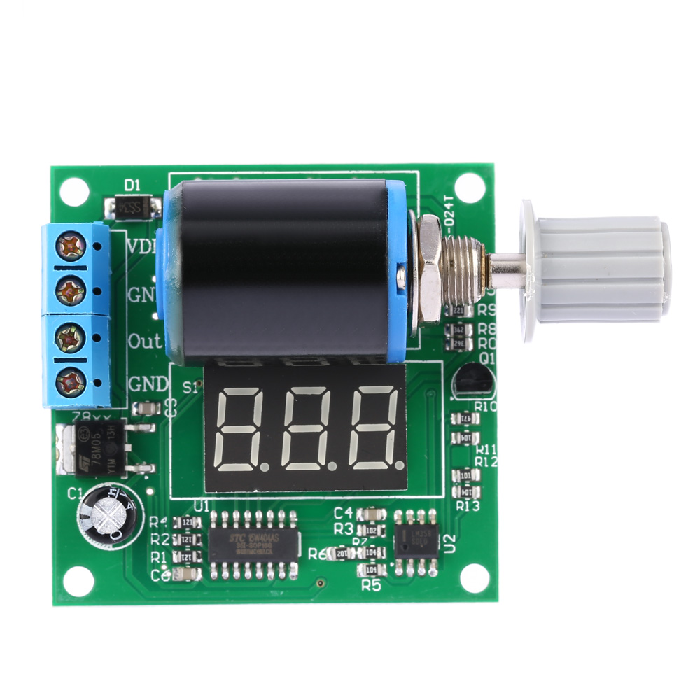 DIY Kit for Digital Adjustable Current Signal Generator Module Board Precision to 0.1mA frequency generator DC 12V 24V 4 20mA