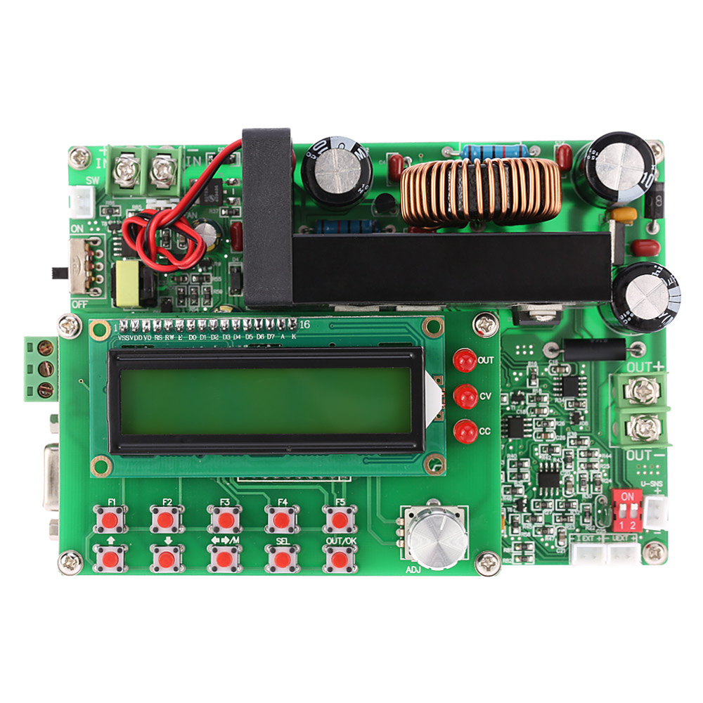 digital dc dc converter adjustable step down power supply module