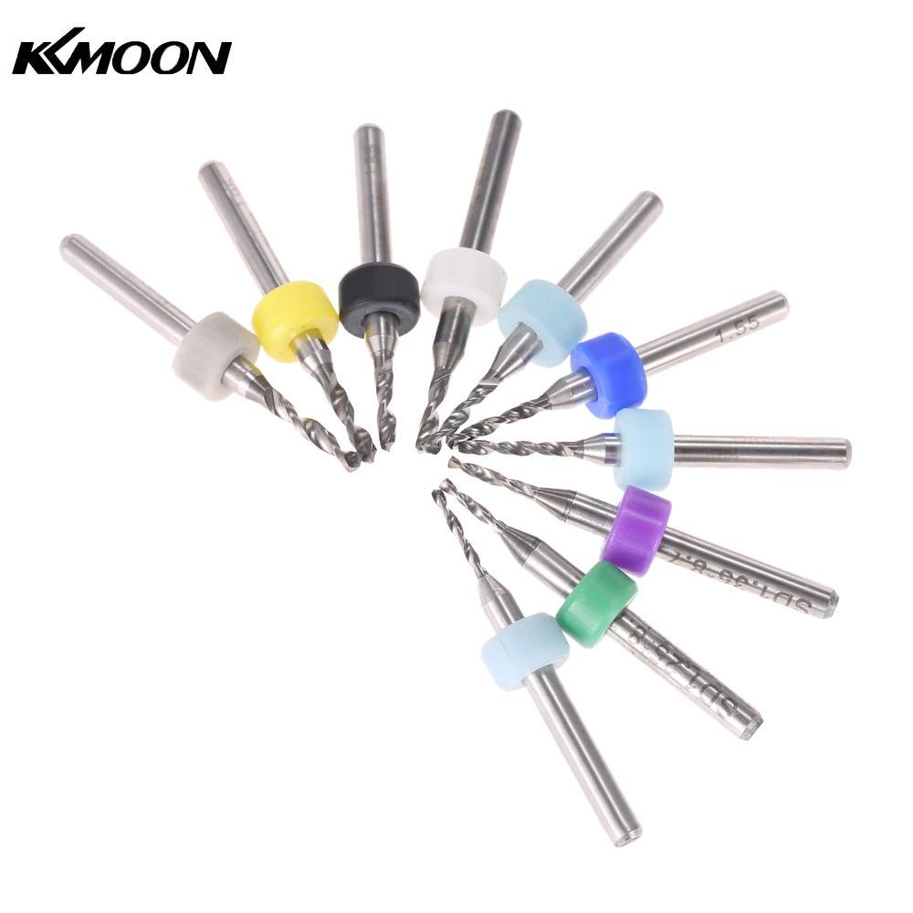 10pcs Circuit Board PCB Drill Bits Carbide Tungsten Steel Twist Drill Bits