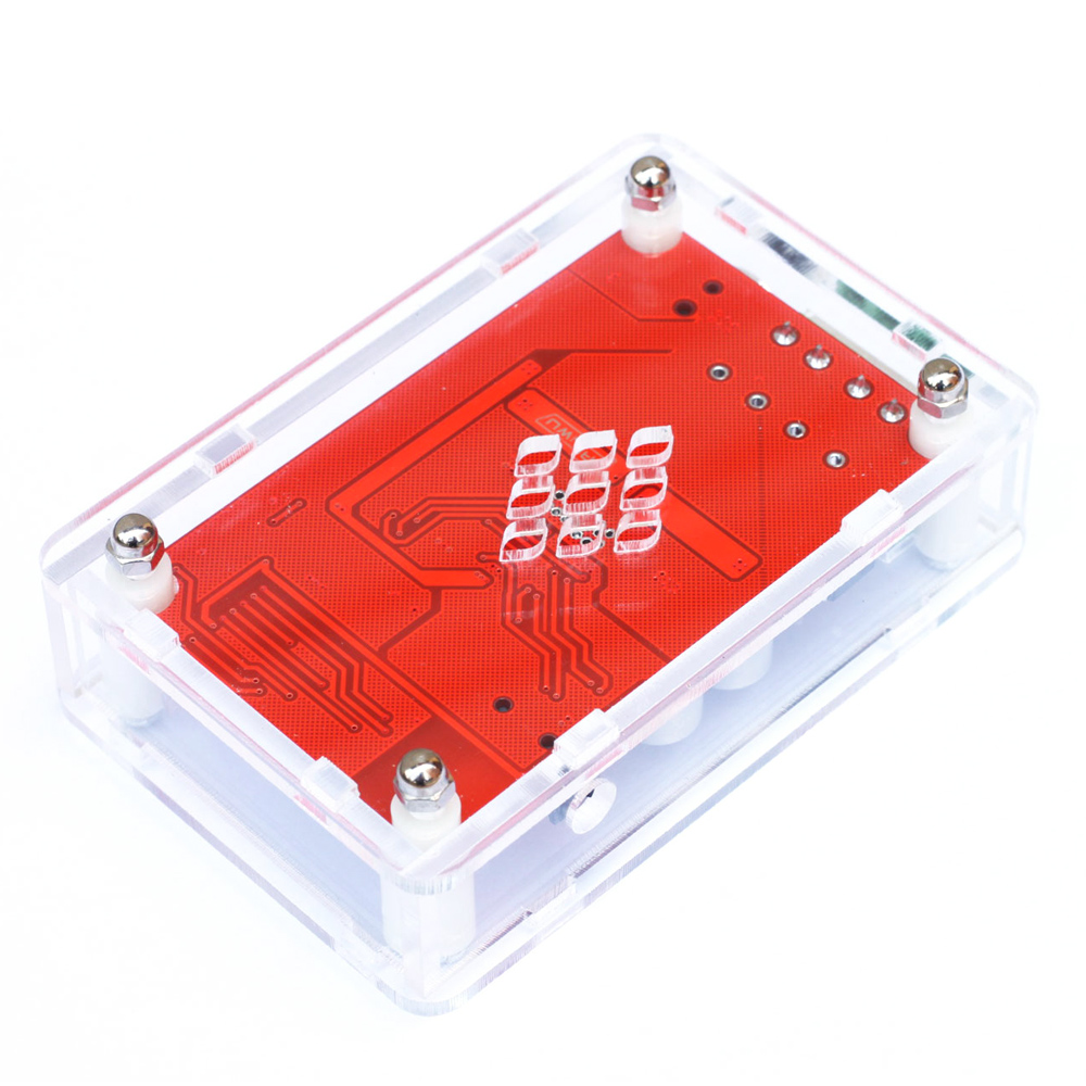 Acrylic DIY Case Cover Shell for TDA7492P 2x25W Wireless Bluetooth 4.0 Audio Receiver Amplifier Board Module with AUX Interface
