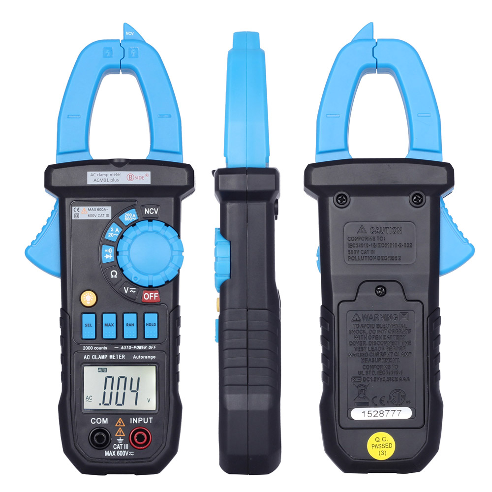 Digital Clamp Meter Multimeter The Current Tongs Circuit Diagnostic How To Build Pic Diode Tester Tool Dc Ac Voltage Resistance Continuity