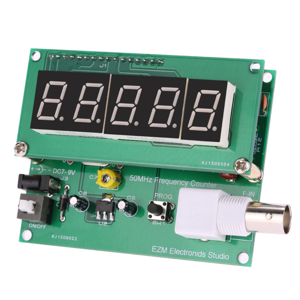 Frequency Counter Kit : High sensitivity frequency counter hz mhz cymometer
