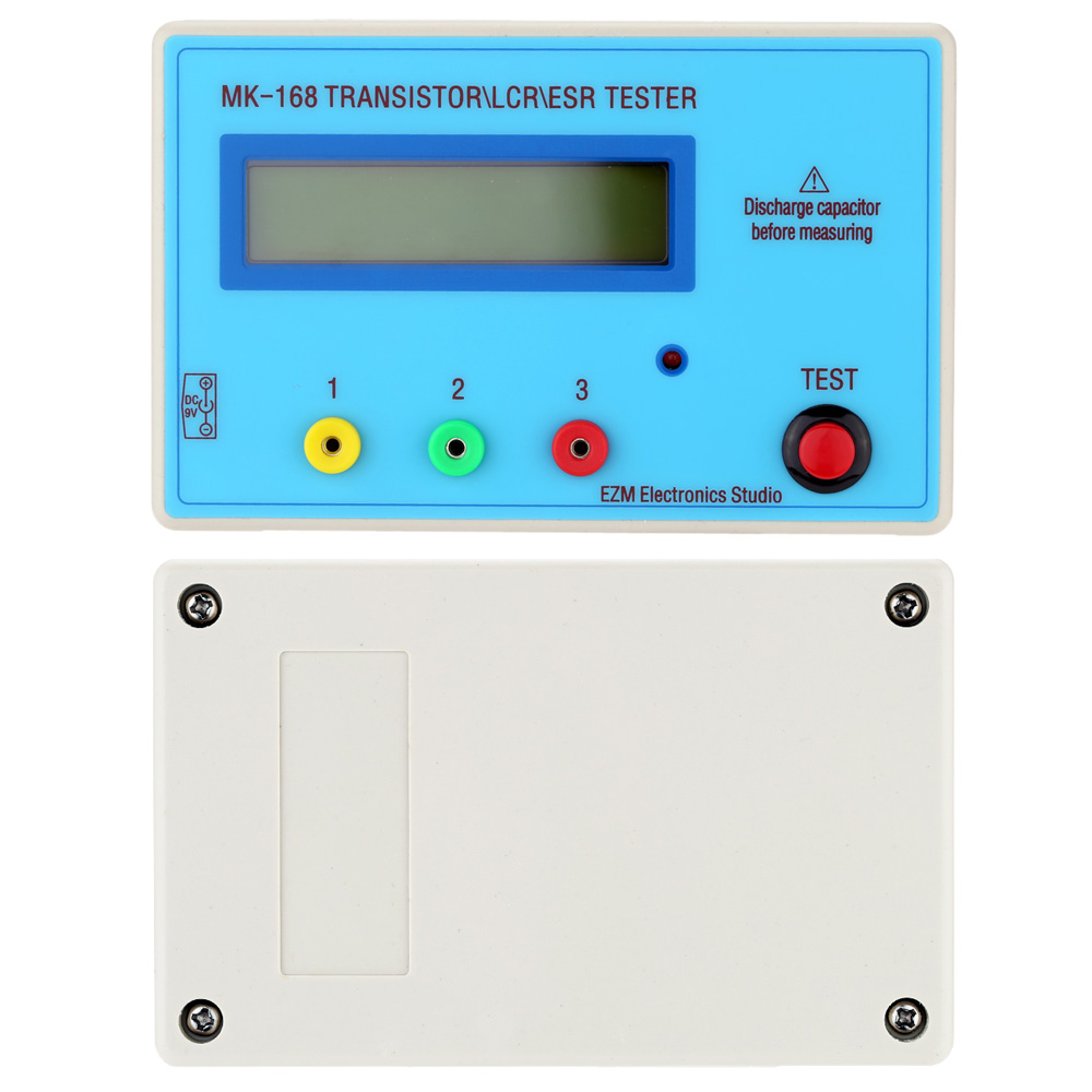 Multifunctional Transistor Tester LCD Backlight Diode Inductance ...
