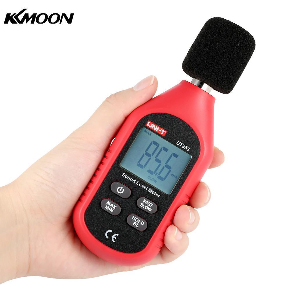 Uni T Sound Level Meter Mini Lcd Display Digital Pressure Noise Measuring Instrument Decibel
