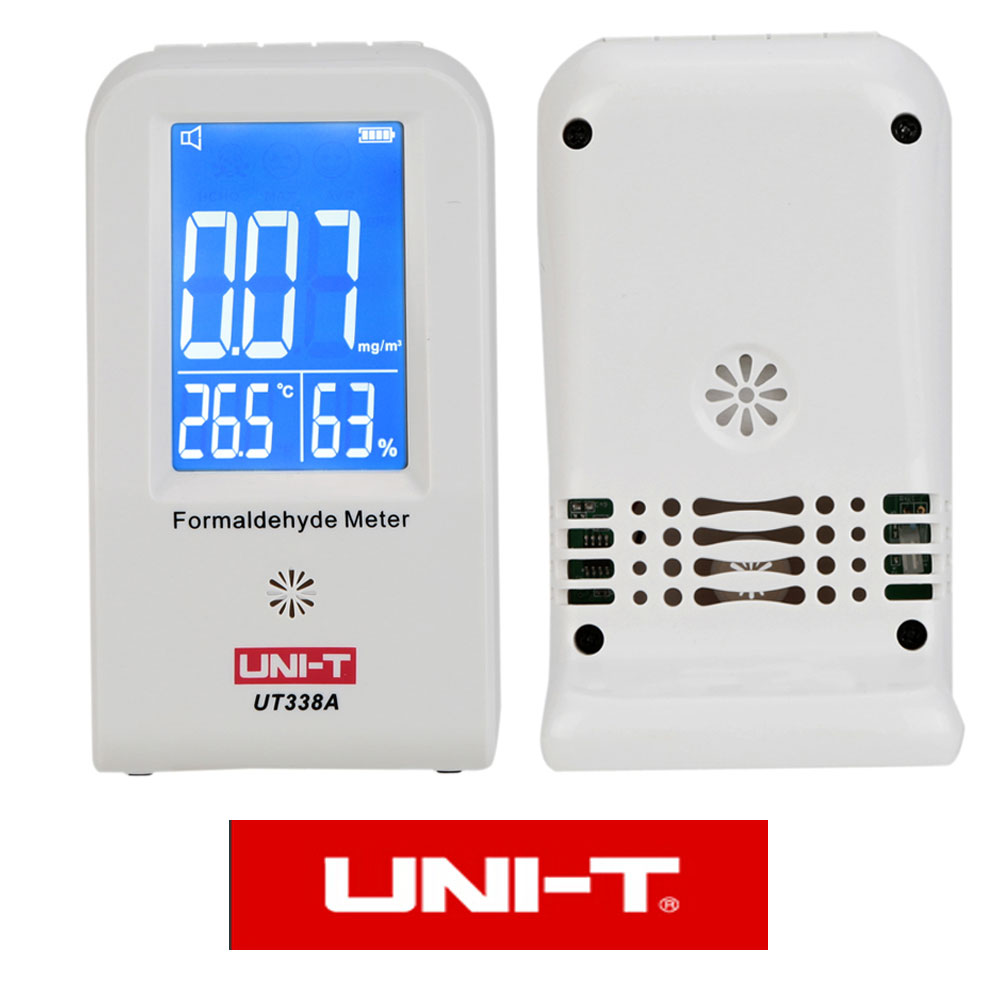 High Precision Indoor Formaldehyde Data Logger Detector Air Monitor Thermometer Hygrometer LCD Display