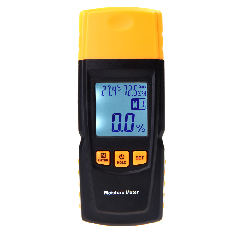 Digital LCD Display Woods Moisture Meter hygrometer Temperature Humidity Tester Timber Damp Detector medidor de humedad