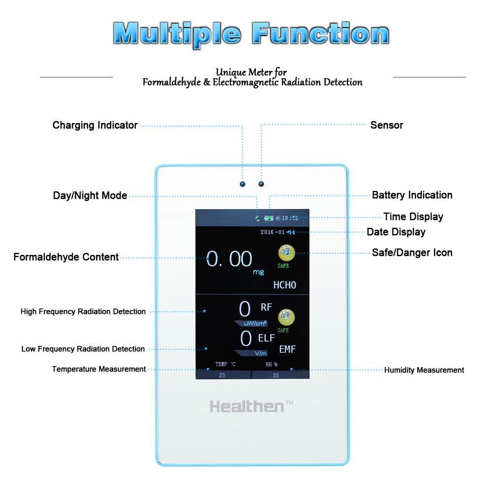 Multi-founctional Formaldehyde Detector Electromagnetic