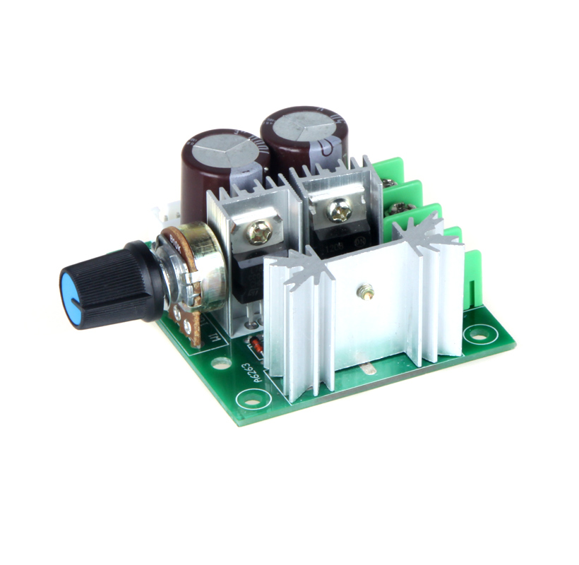 Quality 12V 40V 10A Motor Controller Electric Speed Controller Motor Speed Control Switch Pulse Width Modulation PWM DC 13KHz