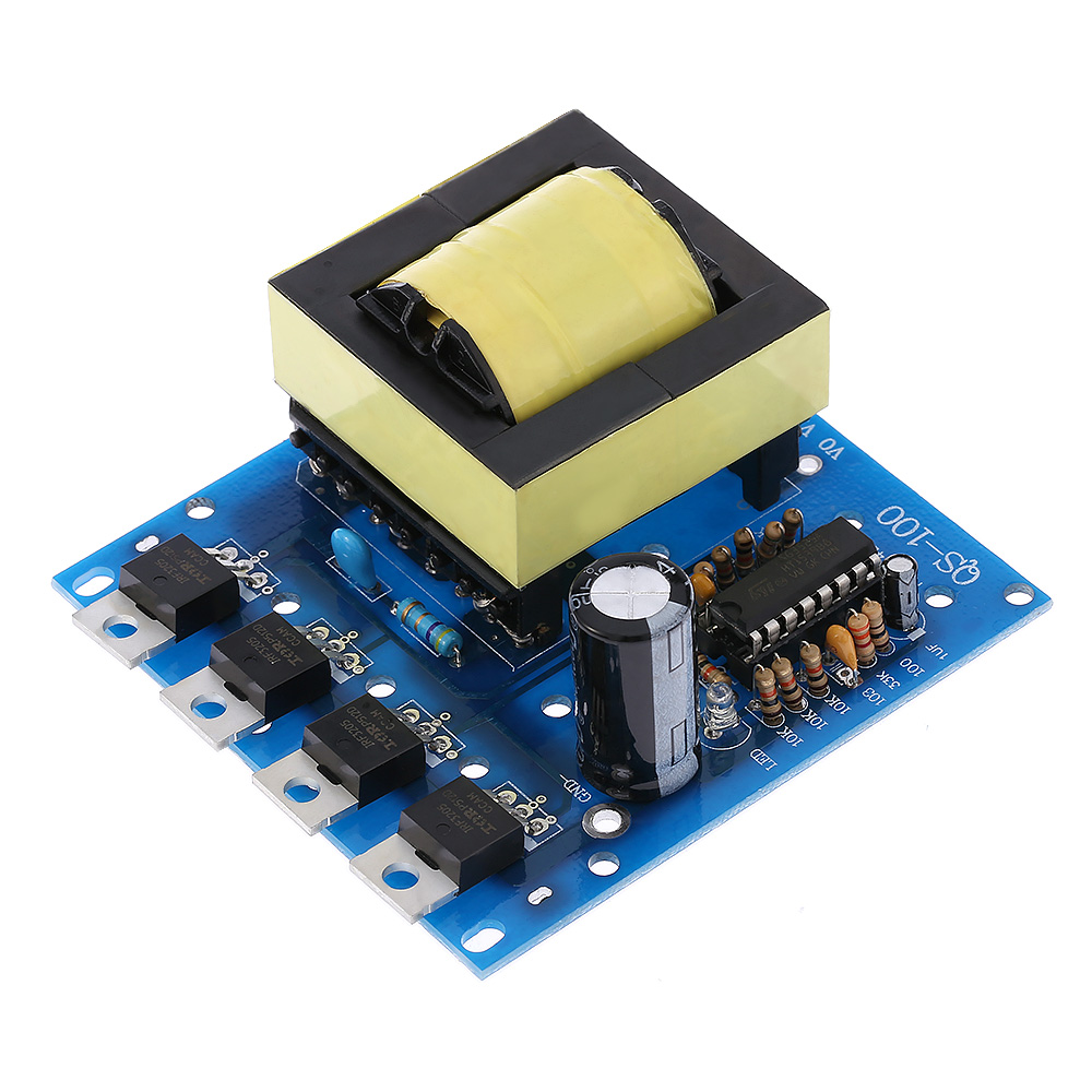 DC AC Converter Inverter Board DC12V to 220V 380V 18V AC 500W Inverter Board Transformer Power