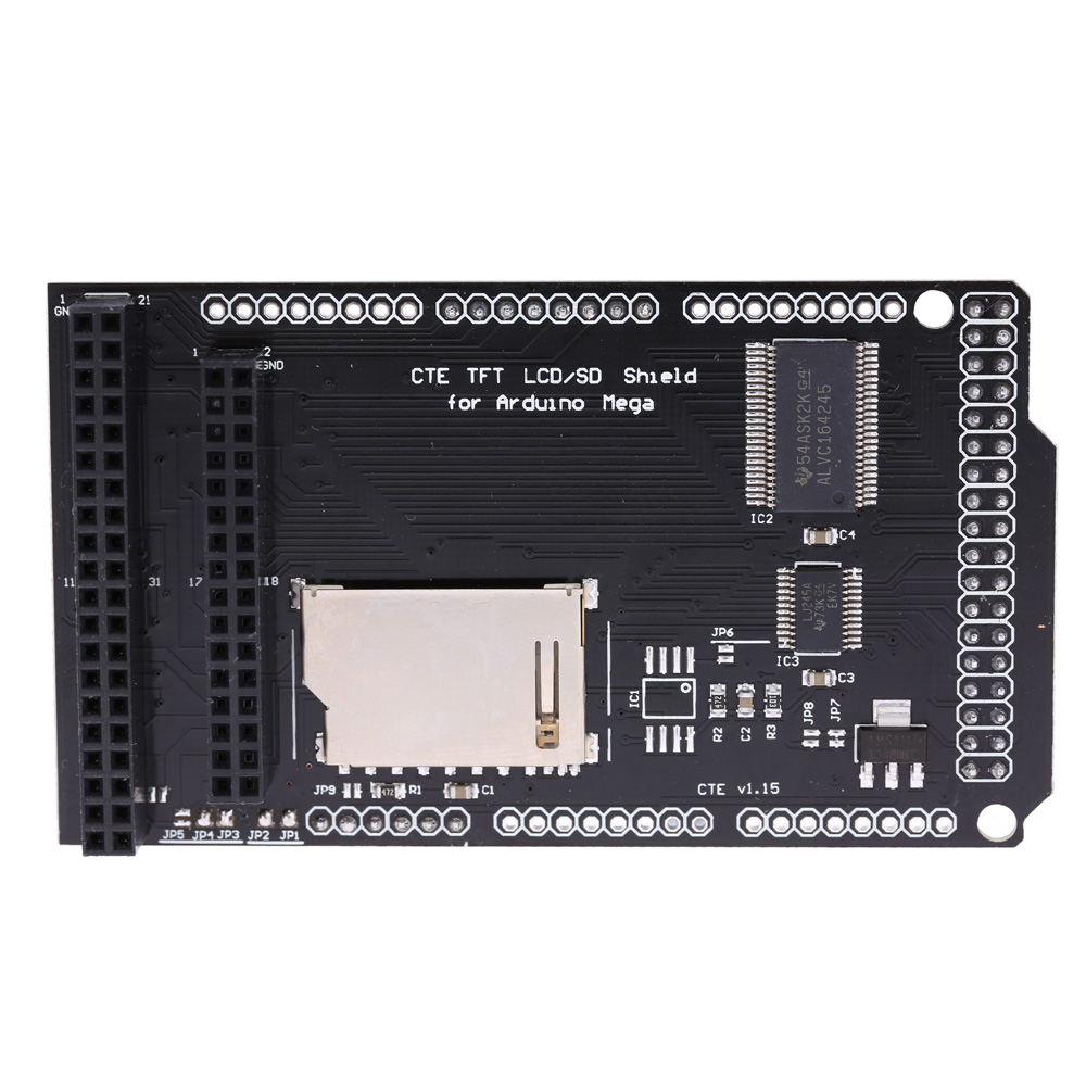 CTE TFT LCD SD Shield Expansion Board Module CTE TFT SD Shield for Arduino MEGA 2560 Module Level Translation