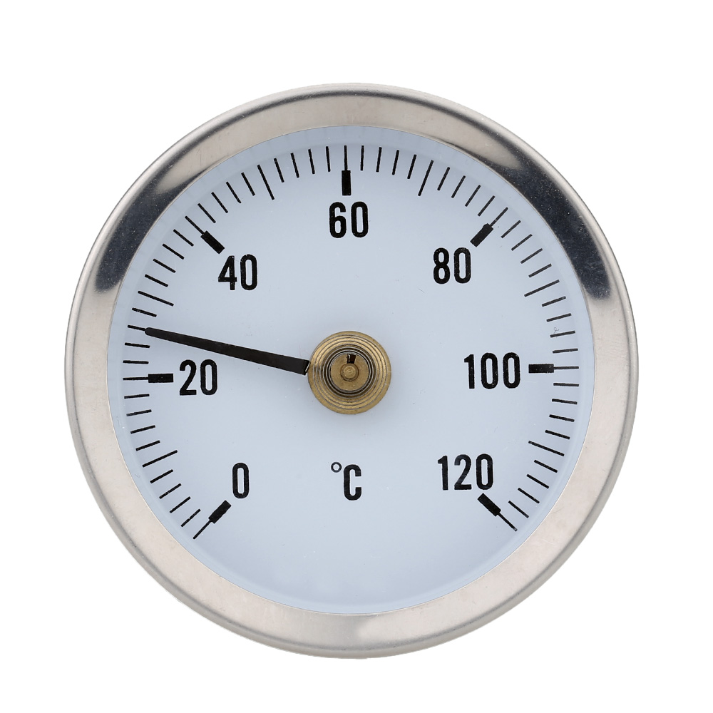 0 120 Degree High Precision Thermometer Bimetal Stainless