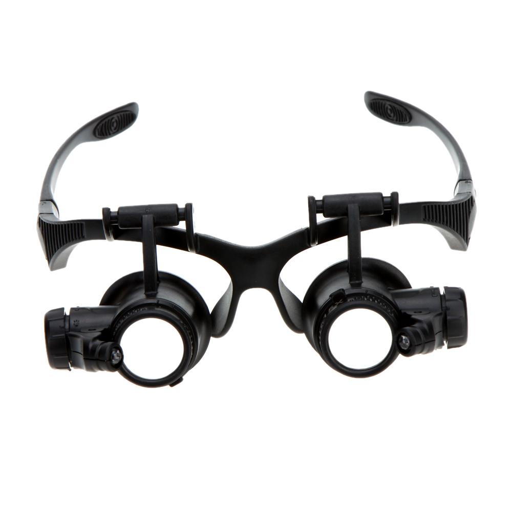 10x 15x 20x 25x Binocular Loupe Glasses Magnifier