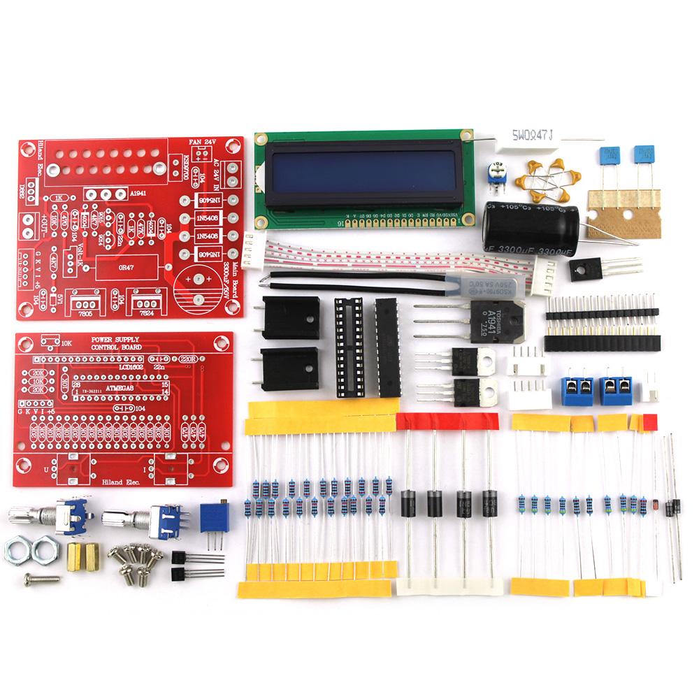 Adjustable Dc Regulated Power Supply Diy Kit Lcd Display
