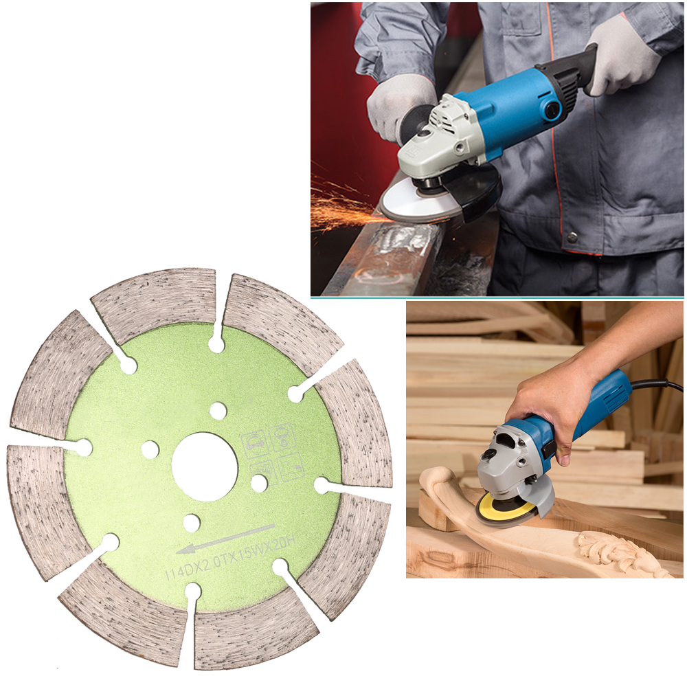 Diamond saw blade with cooling holes 20mm inner diameter marble diamond saw blade with cooling holes 20mm inner diameter marble granite tile incising for angle grinder dailygadgetfo Image collections