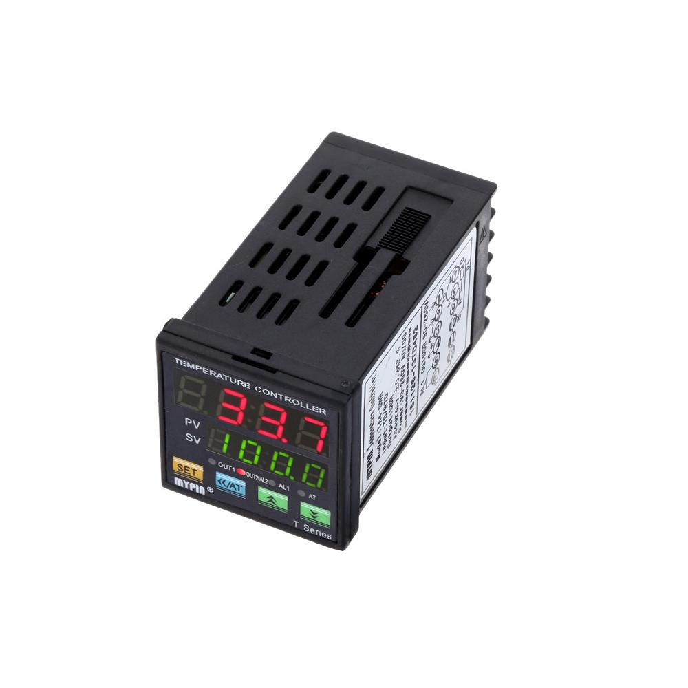 25A DA SSR Digital F//C PID Temperature Controller Thermostat TA4-SNR PT100