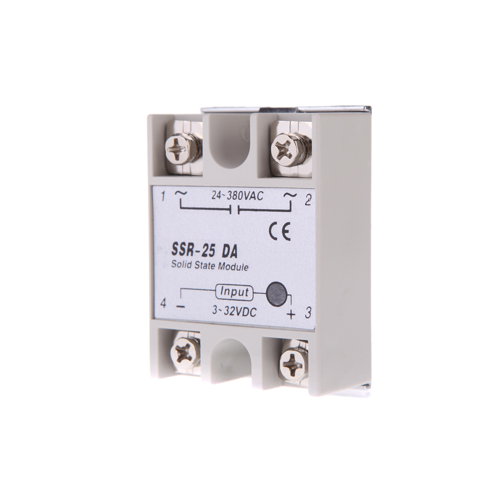Mini Digital Pid Temperature Controller Led Thermometer Snr Tc Rtd Solid State Relay Taiwan Module Pt100