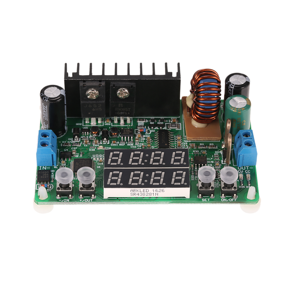 Digital High Quality Step Down Module Constant Voltage Current Power Supply Dc Regulated Input 6 40v Output 0 32v 5a