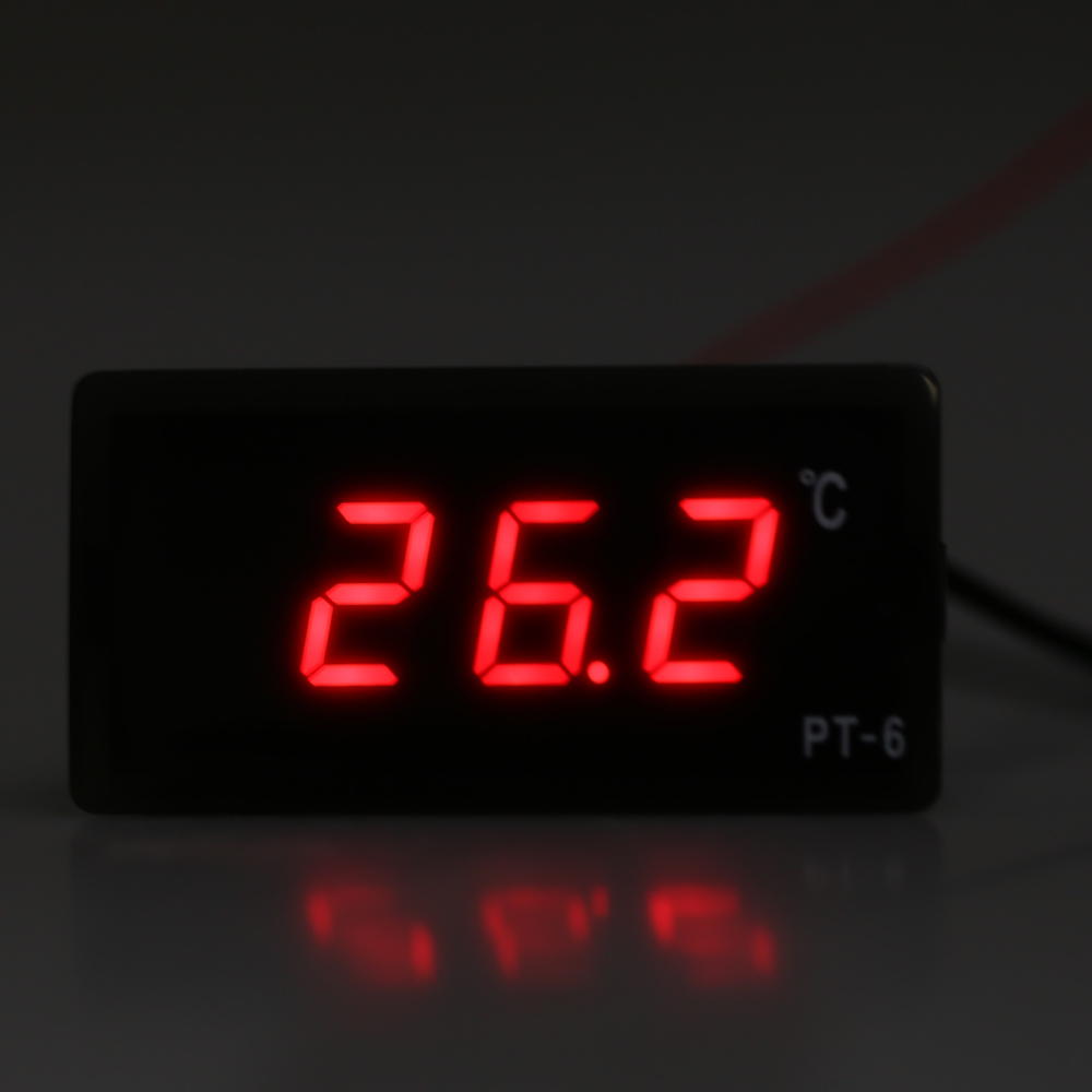 Digital LED Direct Anti-light Display Thermometer Temperature Meter Monitor GA