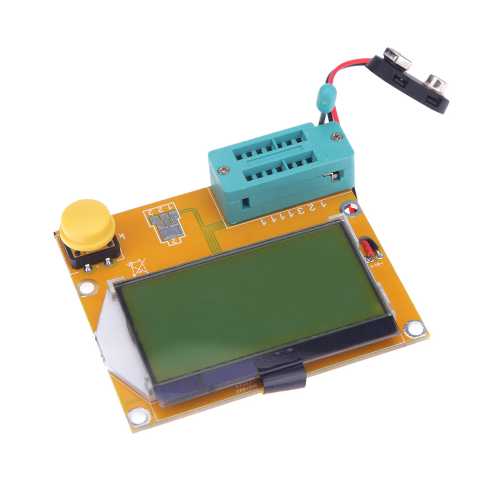 Lcd Backlight Esr Meter Lcr Led Transistor Tester Diode Triode Capacitance Diagnostic Tool Mos Pnp Npn