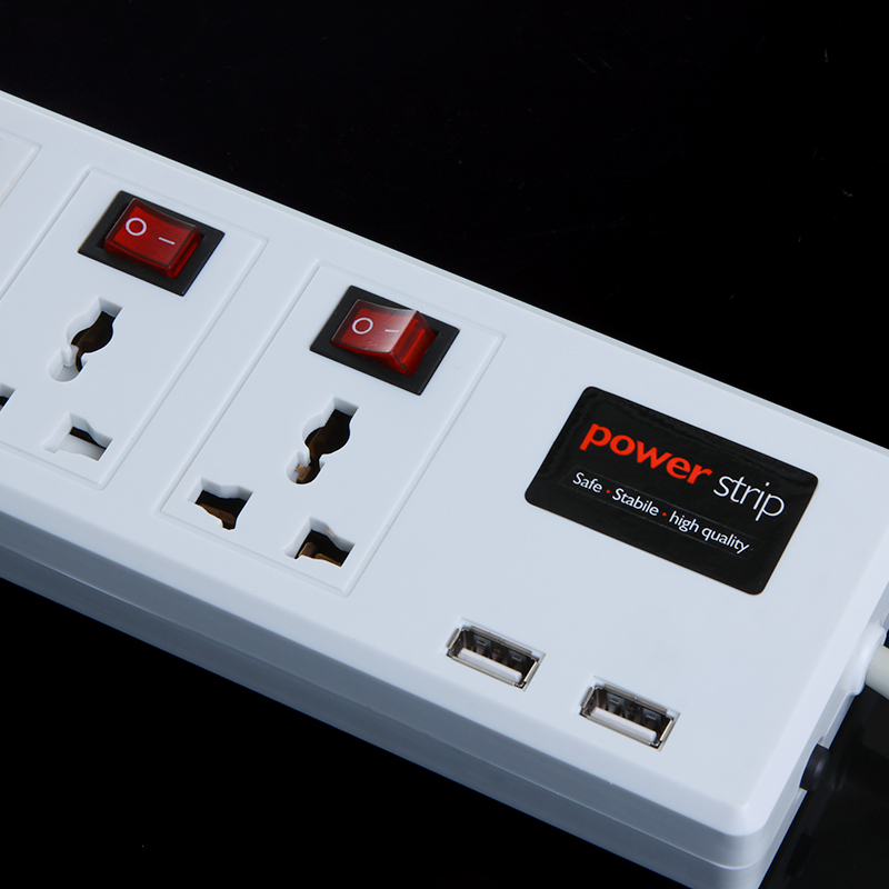 multi functional plug 6 universal outlet amp 2 usb charger port rh cukii com